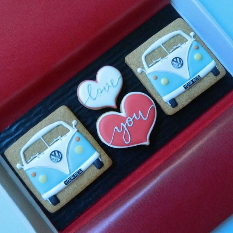 Two Splitties and Love You Letterbox Cookies
