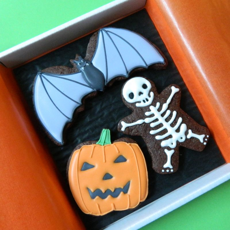 Halloween Cookie Card