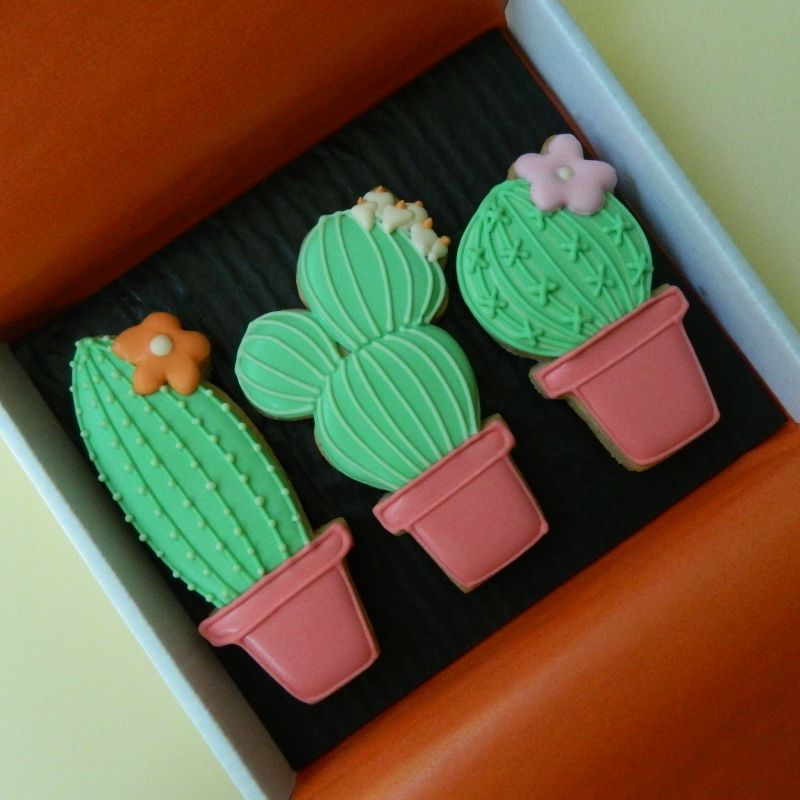 Cacti Cookie Card