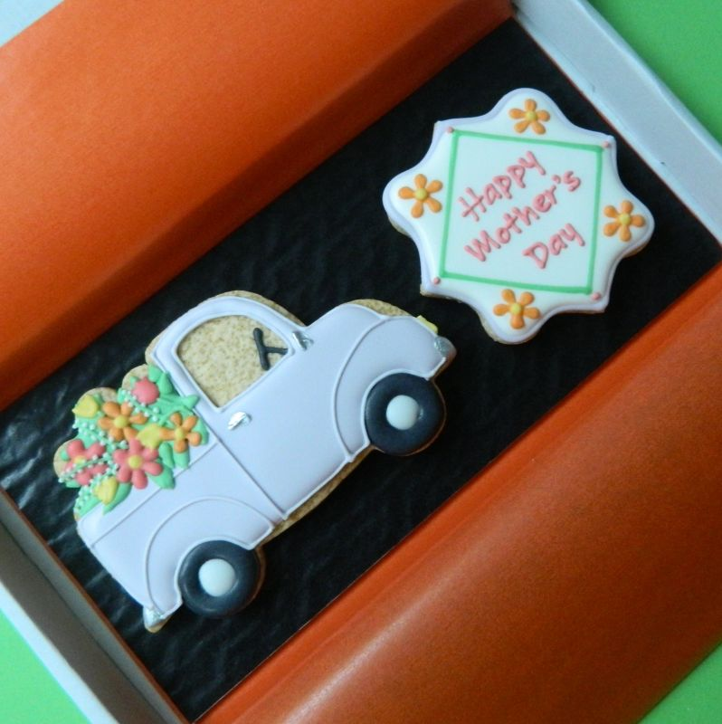Mother's Day Truck Letterbox Cookies