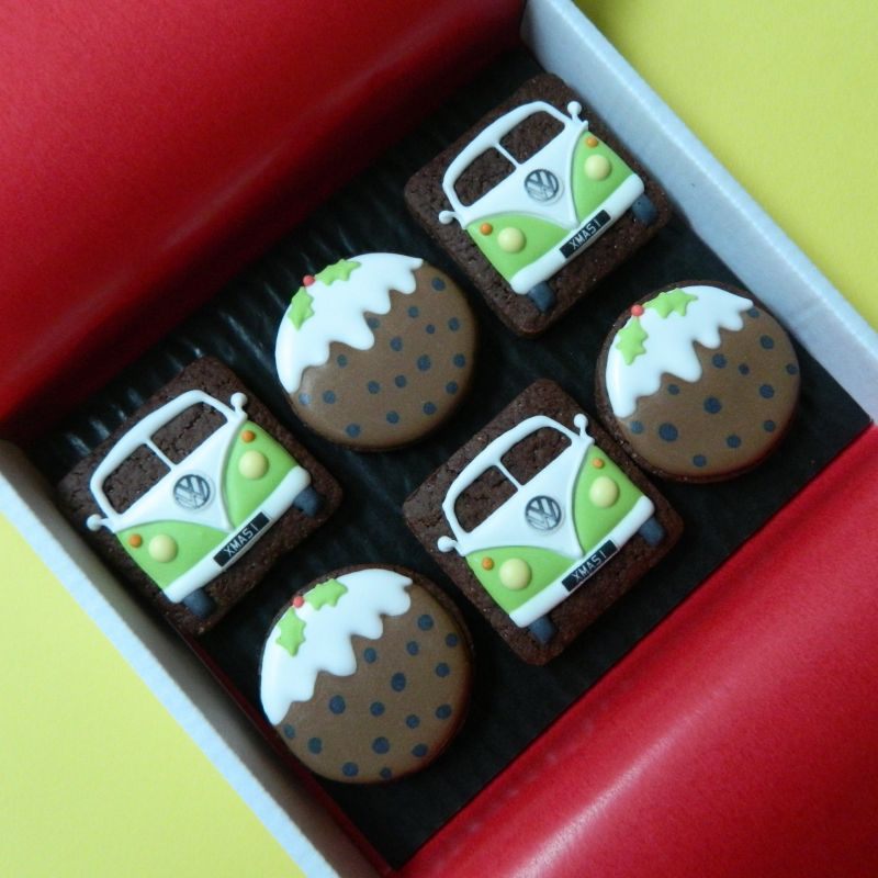 Little Splitties and Puddings Cookie Card
