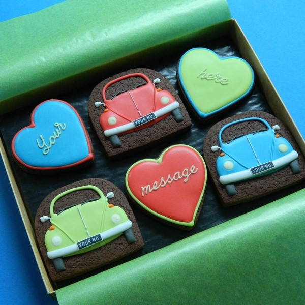 Beetles and Hearts Box - Medium
