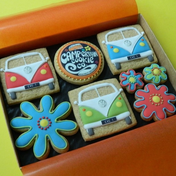 Campervan Cookie Co - Medium Box