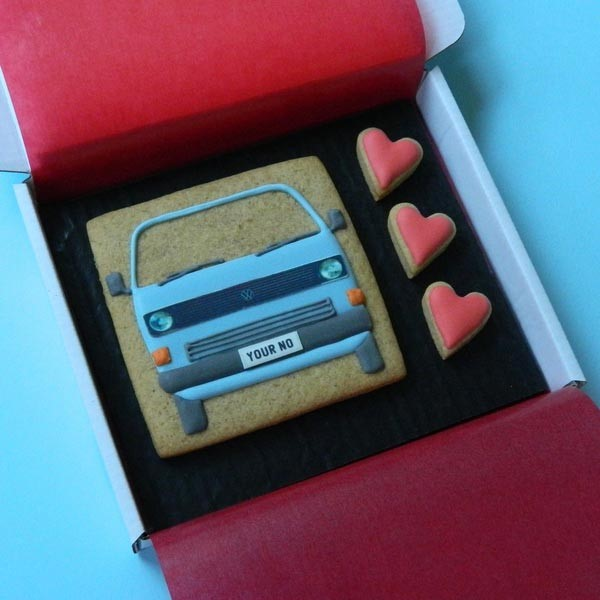 Type 25 with Hearts Cookie Card