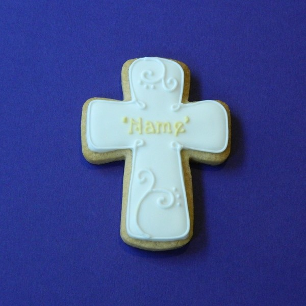 Date Cross Cookie - Small