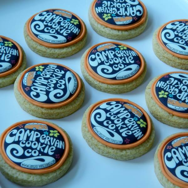 Campervan Cookie Co Logo Cookies