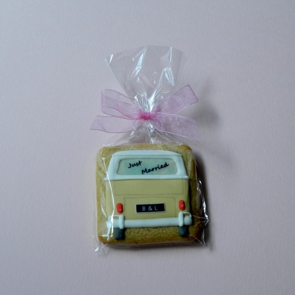 Just Married Splitty Wedding Favours - Medium