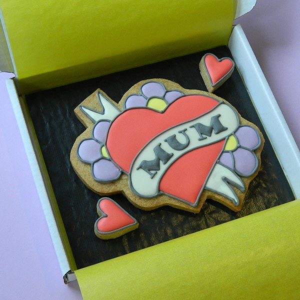 Mum Tattoo Cookie Card
