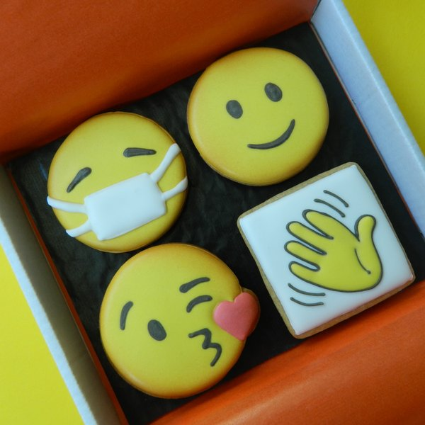 Emoji Cookie Card