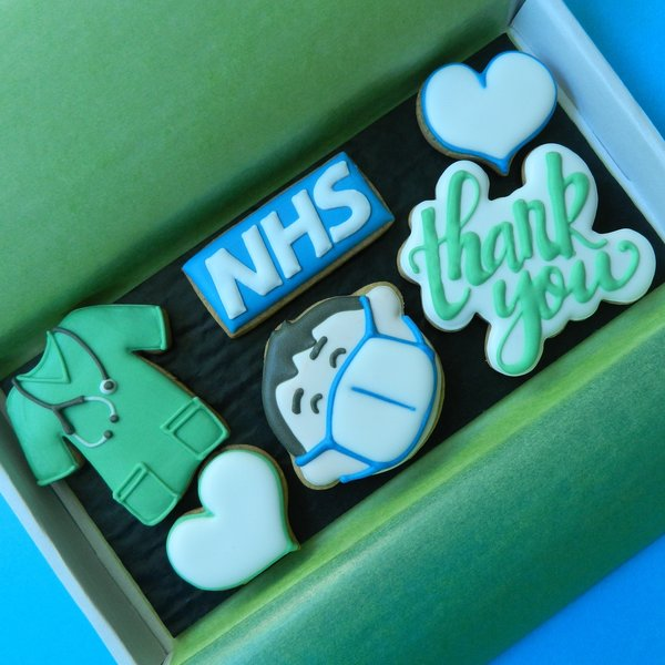 Thank You Health Worker Letterbox Cookies