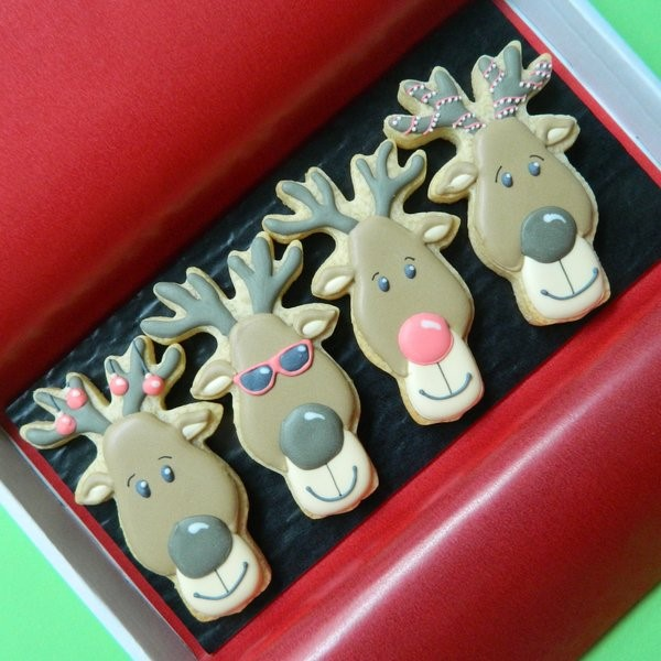 Rudolf and Friends Letterbox Cookies