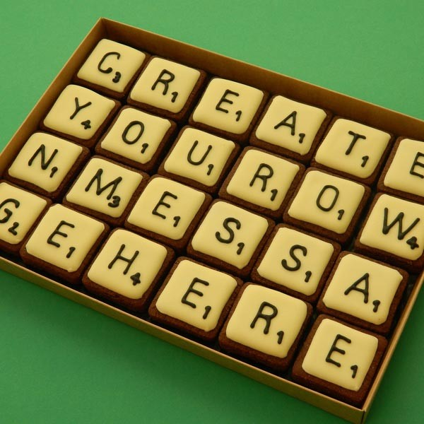 Scrabble Message - Medium