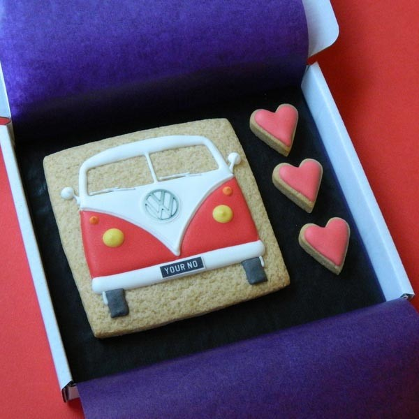 Splitty with Hearts Cookie Card