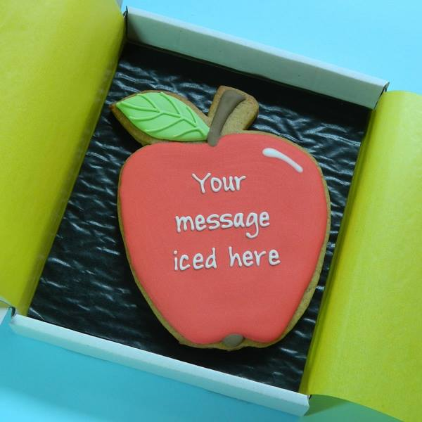 Apple Cookie Card