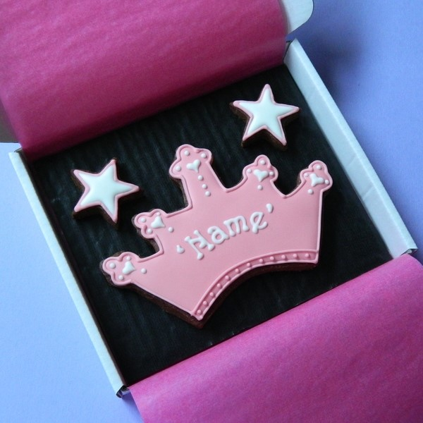 Tiara Cookie Card
