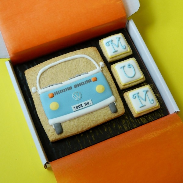 Type 2 Bay Cookie Card for Mum