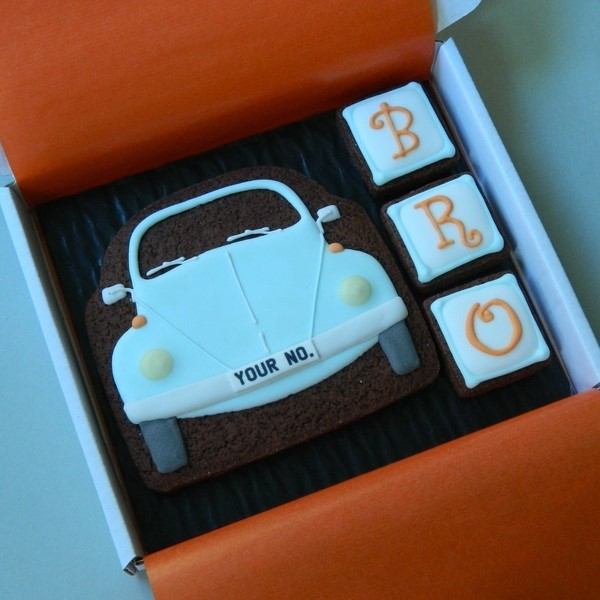 Classic Beetle Cookie Card for Brother