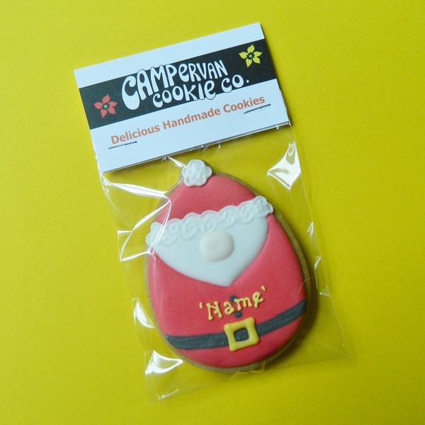 Personalised Santa Cookie